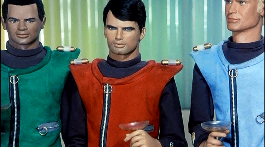 Captain Scarlet is 50!
