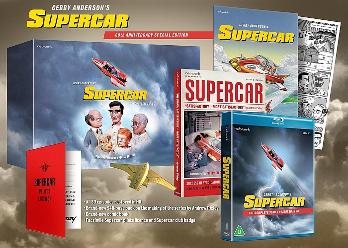 Supercar 60th anniversary HD boxset is here